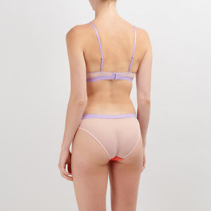 Dora Larsen AW19 | Colourful Lingerie‎ - Sophie underwire bra and low rise knicker underwear set