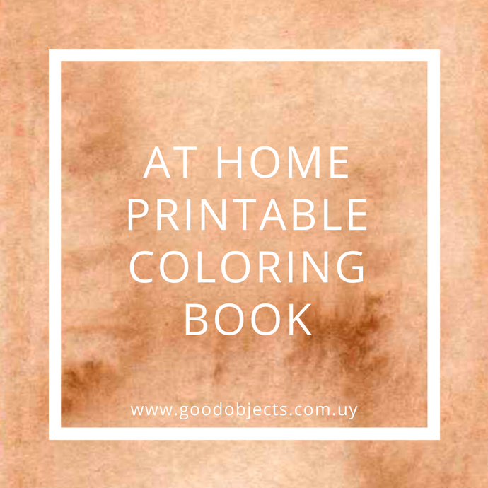 At Home Coloring Book process videos