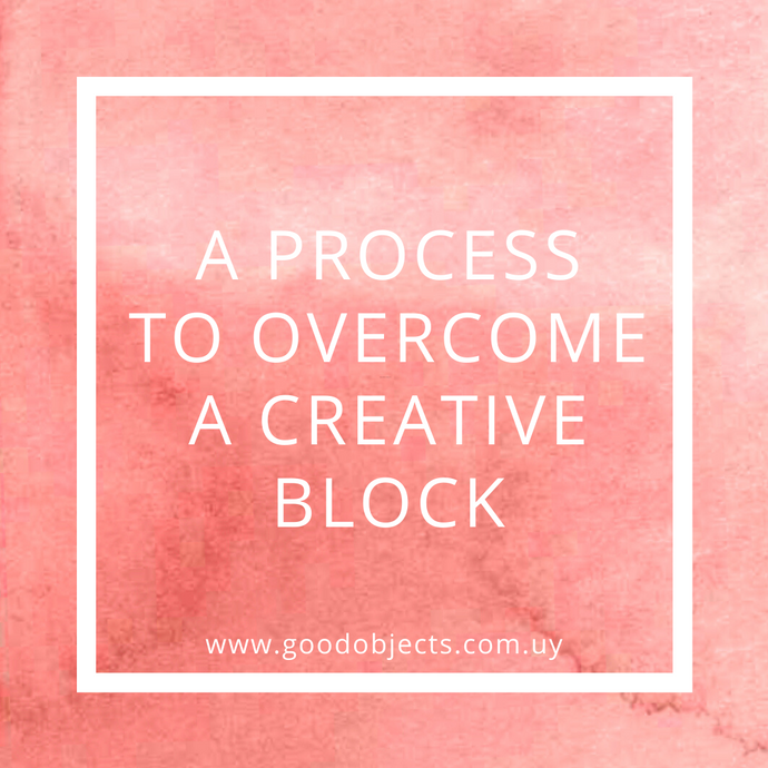 A process to overcome a creative block