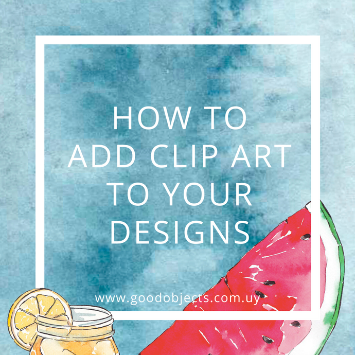 How to add clip art to your designs