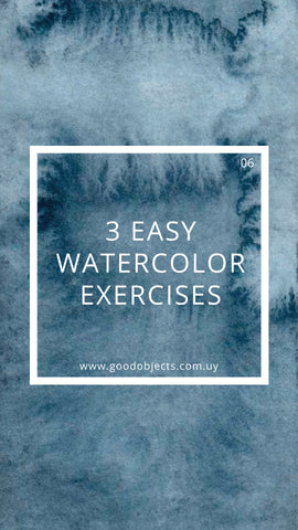 watercolor exercises