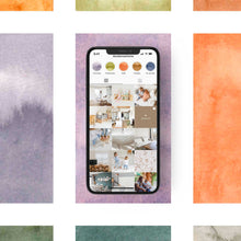 Load image into Gallery viewer, 40 COLORS & STRIPES Pack for Stories Backgrounds