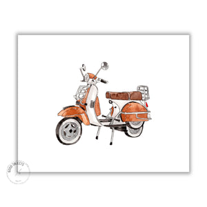 vintage motorcycle digital download