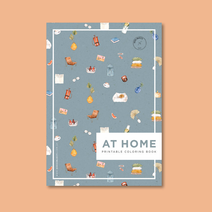 at home coloring book