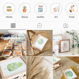 65 Instagram Highlight Covers AT HOME Pack