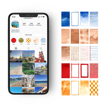 Load image into Gallery viewer, 40 NEW PALETTE 2020 Pack for Stories Backgrounds