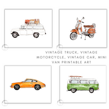 Load image into Gallery viewer, cars printable art