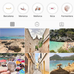 instagram travel icons
