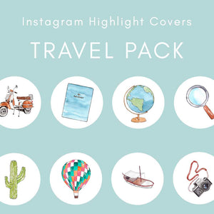 ig highlight covers travel