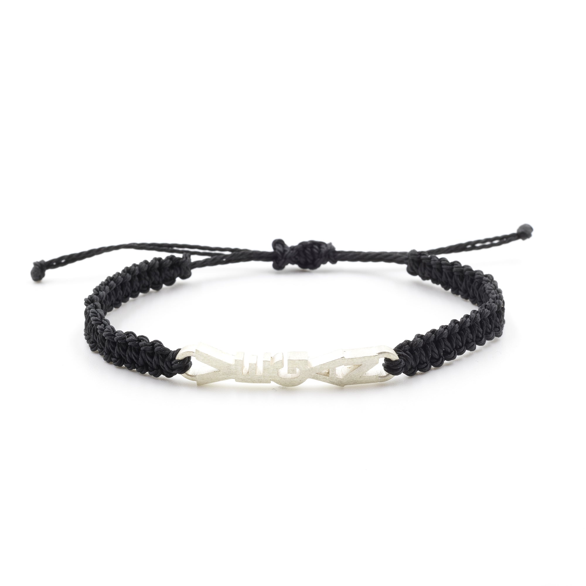 Vegan bracelet black