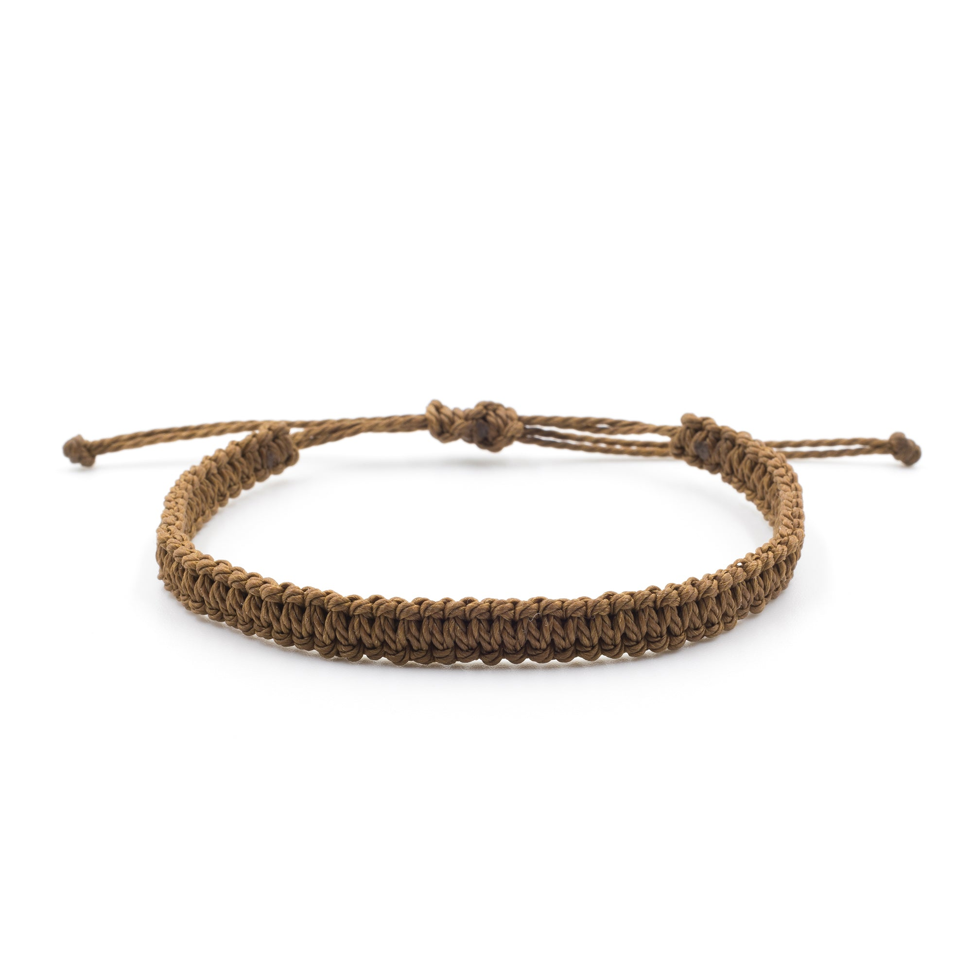 Tree bracelet brown