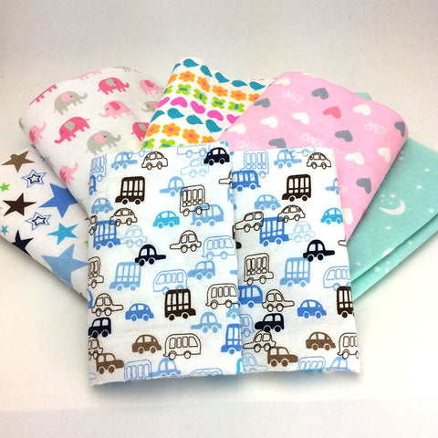 Cotton flannel baby bed sheets