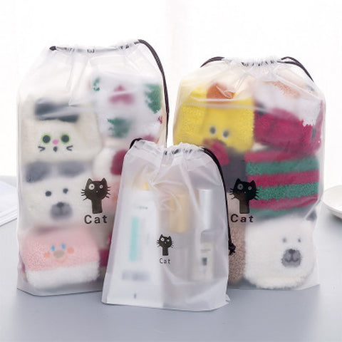 Cat Storage Bag Stationery Organizer