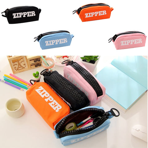Creative Big Zipper Pencil Case