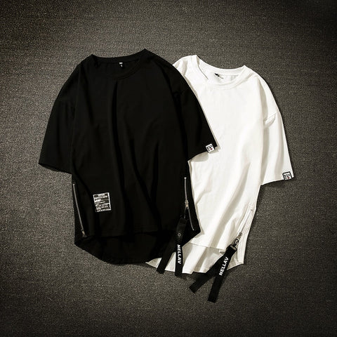 Streetwear Cotton Men T-shirt