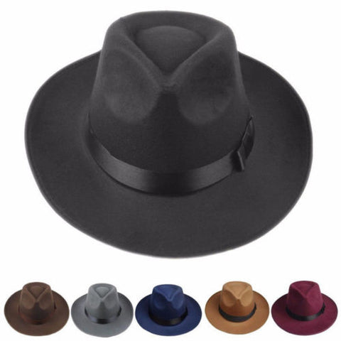 Men Women Thick Wool Hat