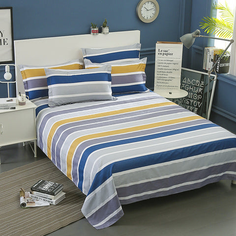 Cotton Bed Linens Flat Bed Sheet