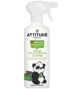 Attitude Canada- Little Ones Toy & Surface Cleaner-Fragrance free 475ml(幼兒專用玩具表面清潔噴霧)