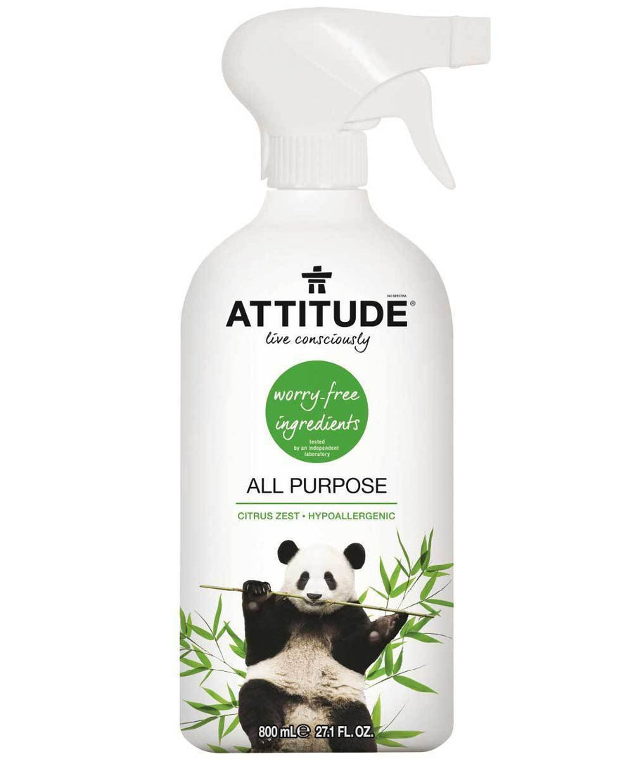Attitude Canada- All Purpose Cleaner-Citrus Zest 800 ml(家居多用途清潔噴霧)