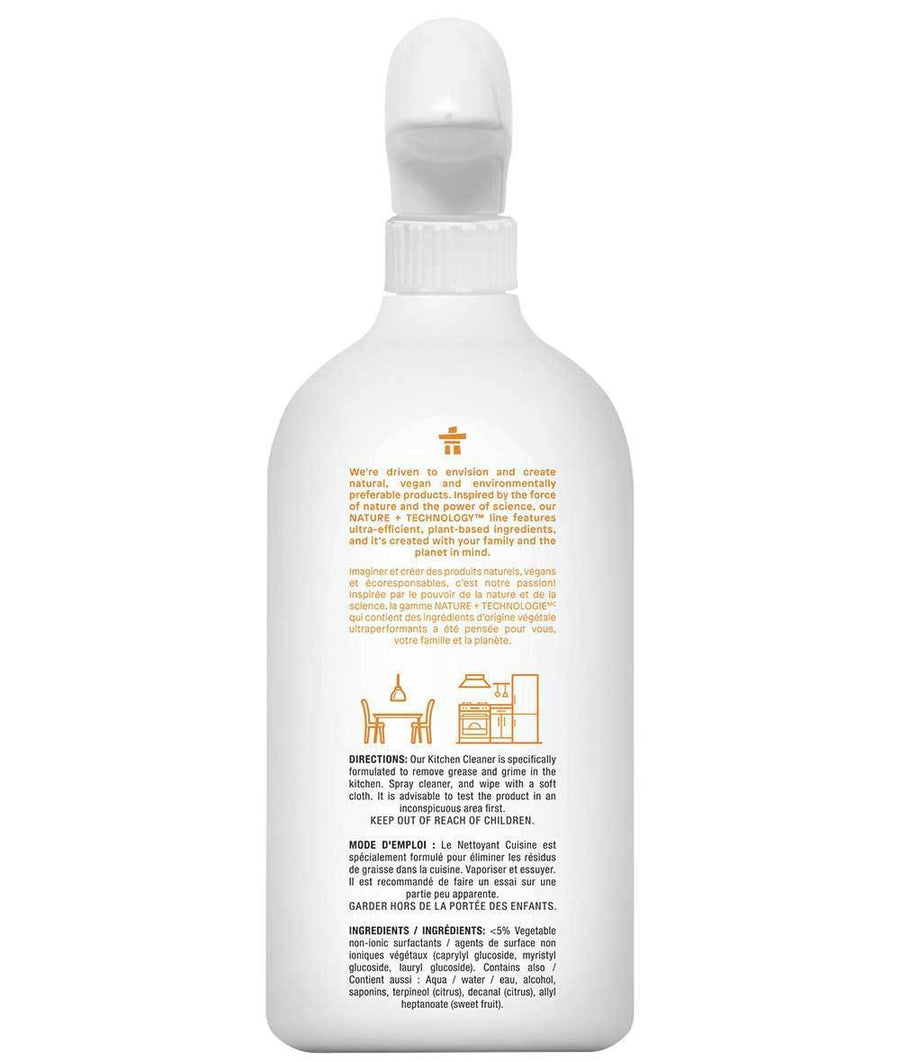 Attitude Canada- Kitchen Cleaner -Citrus Zest 800 ml(廚房專用清潔噴霧)