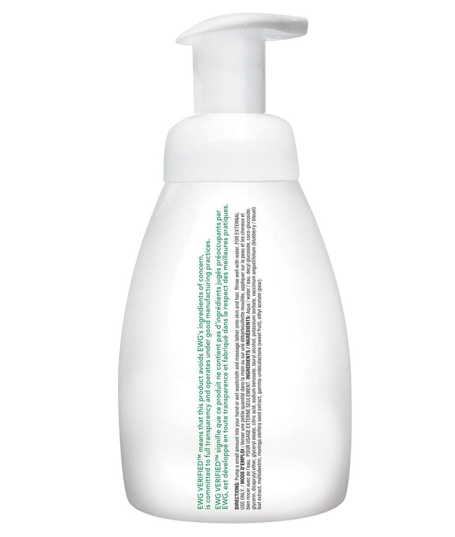 Attitude Canada- Baby Leaves 2 in 1 Foaming Hair and Body Wash-Pear Nectar 295 ml(幼兒洗頭及沖涼泡泡二合一-梨花蜜味)
