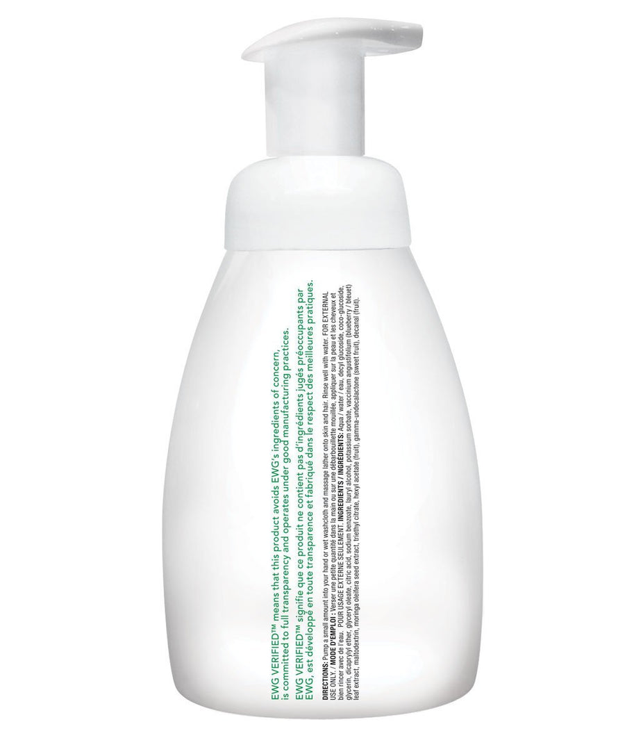 Attitude Canada- Baby Leaves 2 in 1 Foaming Hair and Body Wash - Sweet Apple 295 ml(幼兒洗頭及沖涼泡泡二合一-蘋果味)
