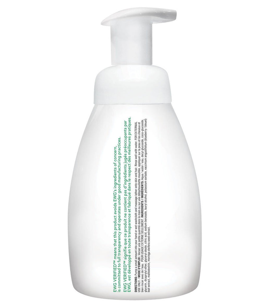 Attitude Canada- Baby Leaves 2 in 1 Foaming Hair & Body Wash- Fragrance Free 295 ml(幼兒洗頭及沖涼泡泡二合一-無味配方)