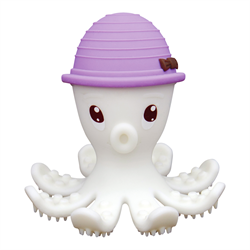 Mombella- Octopus Teether ( Available in 3 Colors) 嬰兒牙膠玩具 (3種顏色可供選擇)