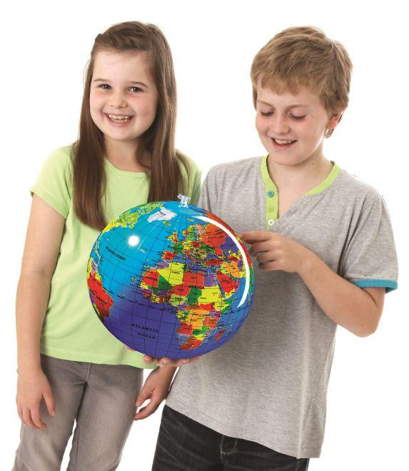 Brainstorm UK 30 cm Inflatable Globe 英國Brainstorm Toys 30cm充氣地球儀