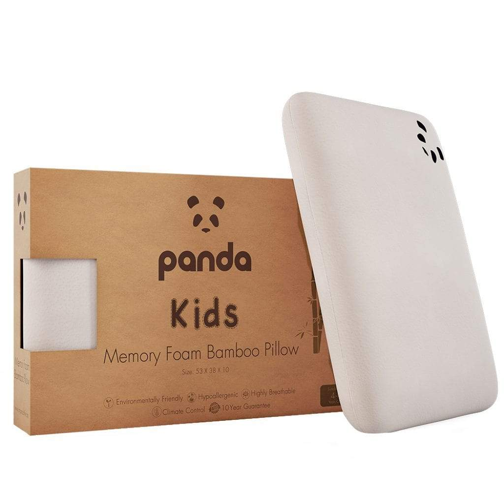 Panda Pillow UK - Panda Kids Memory Foam Bamboo Pillow (4+ Years) 英國Panda小童竹料記憶綿睡枕(合4歲或以上)