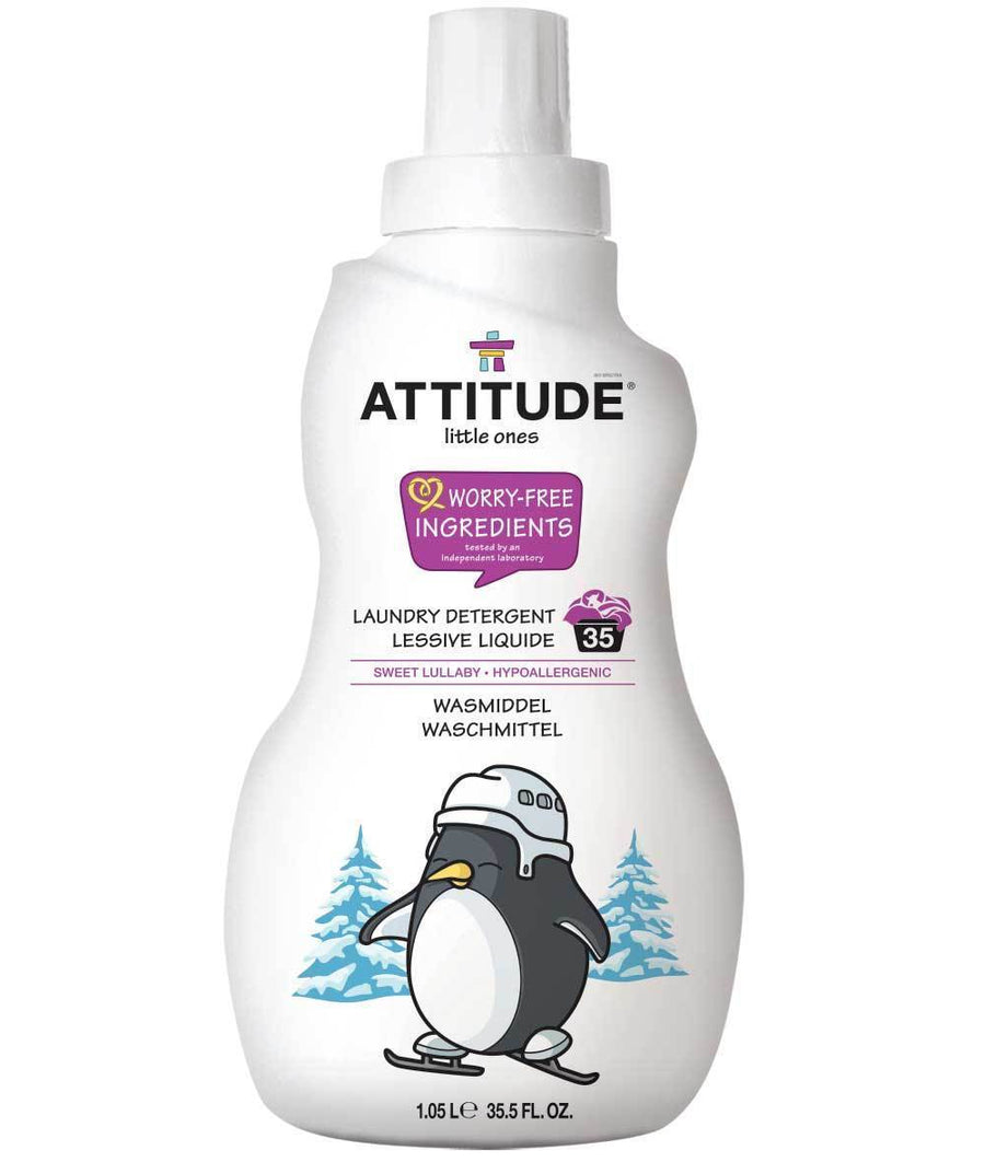 Attitude Canada- Little Ones Laundry Detergent- Sweet Lullaby- 35 loads, 1.05L(幼兒專用洗衣液-甜睡味道配方)