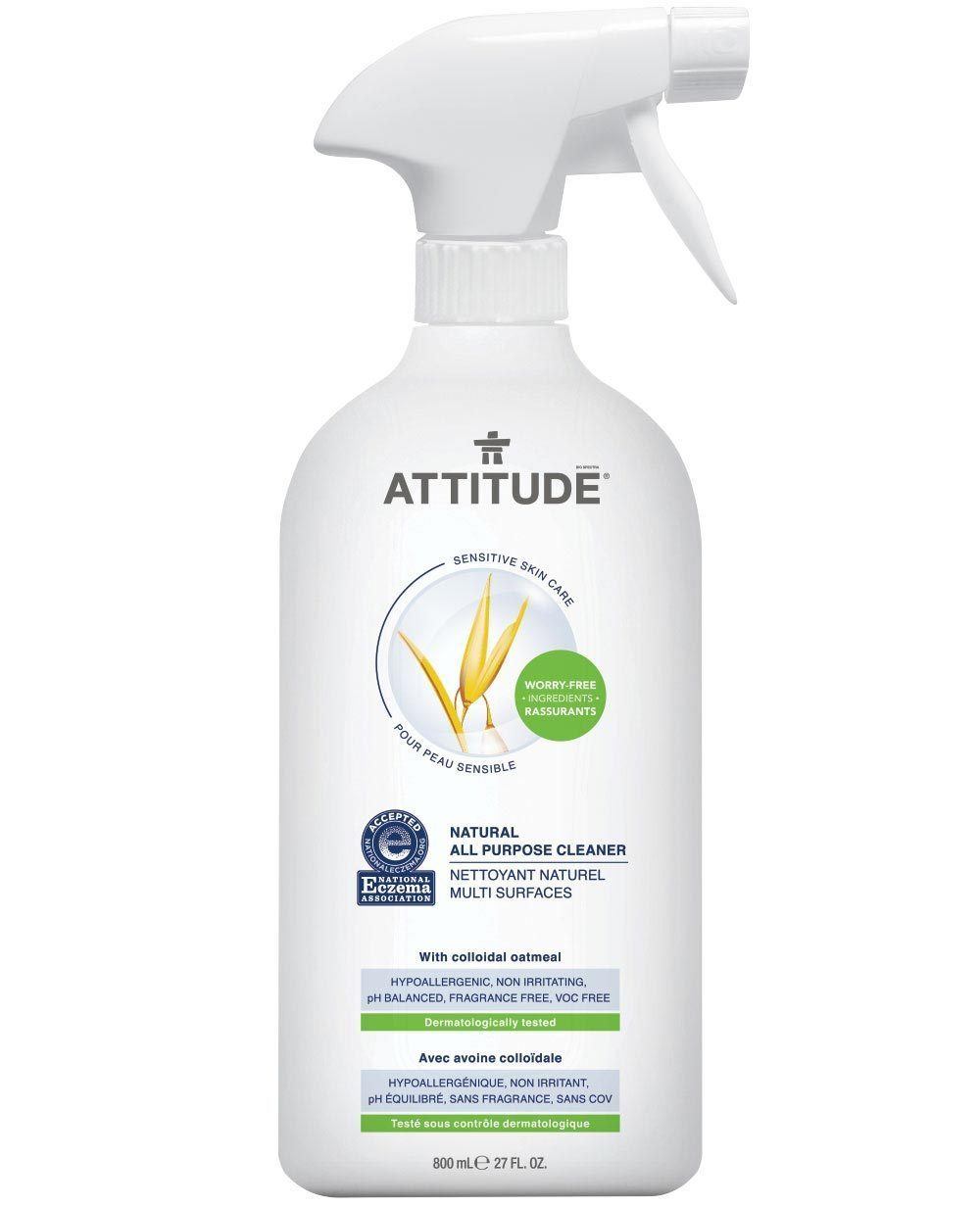 Attitude Canada- Sensitive Skin All Purpose Cleaner 800ml(敏感肌專用多用途清潔噴霧)