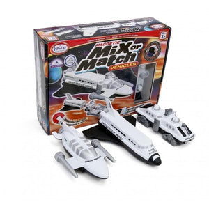 Popular Playthings Mix or Match Vehicles Space 美國Popular Playthings磁石配對拼砌玩具-太空船