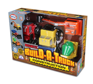 Popular Playthings Magnetic Build-A-Truck Construction 美國Popular Playthings磁石配對拼砌玩具-貨車