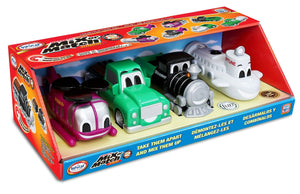 Popular Playthings Mix or Match Vehicles Junior 2 美國Popular Playthings磁石配對拼砌玩具-海陸空交通工具系列2