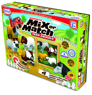 Popular Playthings Mix or Match Animals Farm 美國Popular Playthings磁石配對拼砌玩具-農莊動物