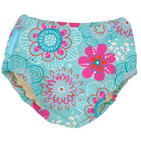 Charlie Banana USA 2-in-1 Swim Diaper & Training Pants Floriana Large 兩用泳褲及學習褲(大碼)