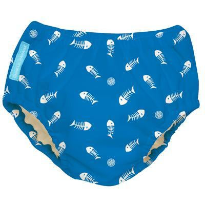 Charlie Banana USA 2-in-1 Swim Diaper & Training Pants Fish Sticks Blue Medium 兩用泳褲及學習褲(中碼)