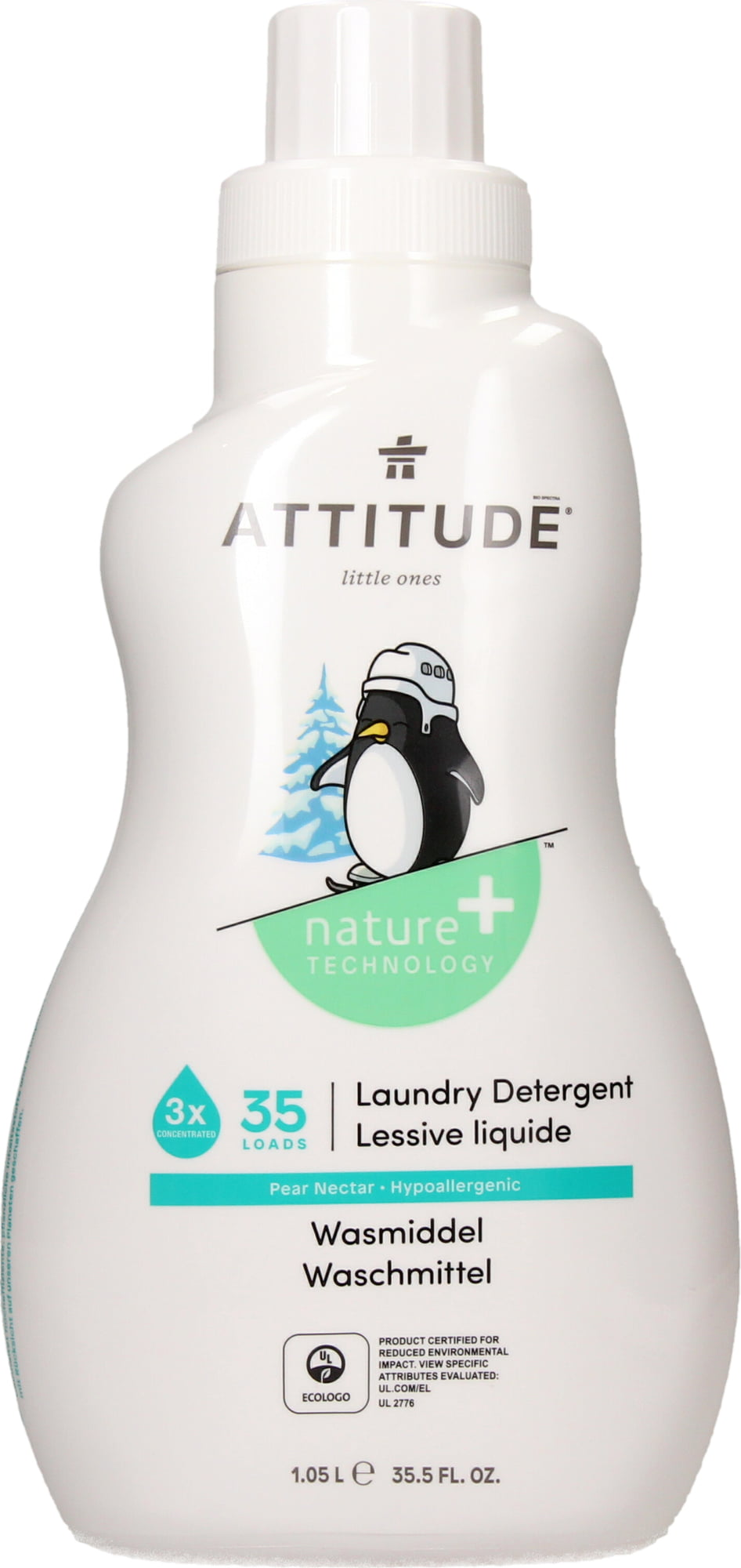 Attitude Canada- Little Ones Laundry Detergent- Pear Nectar- 35 Loads 1.05L(幼兒專用洗衣液-梨花蜜味)