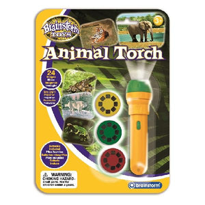 Brainstorm UK  Animal Torch and Projector 英國Brainstorm Toys動物投影電筒