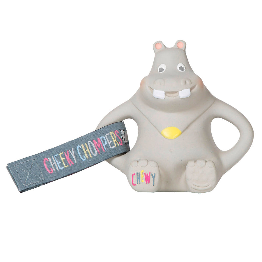 Cheeky Chompers UK- Chewy Teething Toy - Hippo 英國品牌河馬牙膠玩具