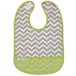 Kushies Canada- Cleanbib | Green Chevron 加拿大品牌Kushies飯衣/圍兜