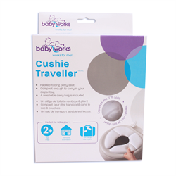 Baby Works- Cushie Traveller - Potty Training Seat 摺疊式便攜軟墊學習廁板