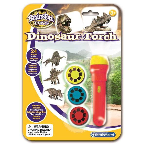 Brainstorm UK Dinosaur Torch and Projector 英國Brainstorm Toys恐龍投影電筒