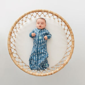 Ergo Pouch Australia Cocoon Baby Sleeping Bag (1.0 Tog) 3-12 Months - Midnight Arrows 嬰兒睡袋 (春夏季適用)