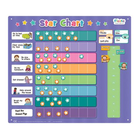 Fiesta Crafts UK- Extra-Large Star Magnetic Chart 英國Fiesta Crafts日常目標星星錶磁石板