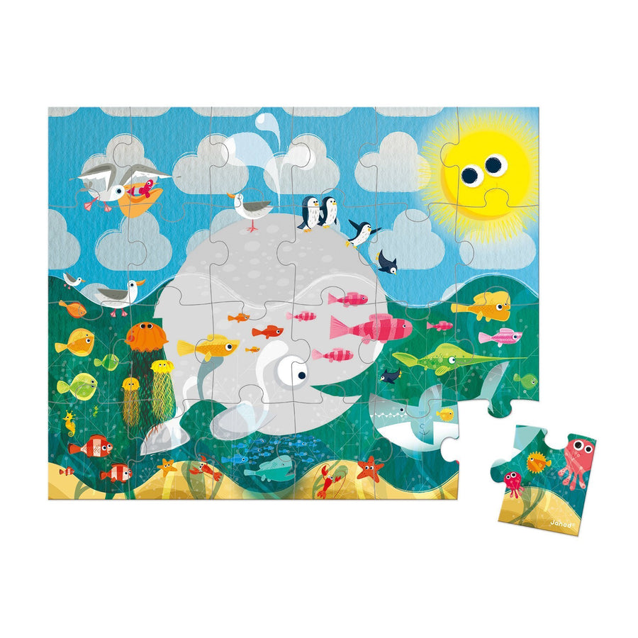 Janod France Hat Boxed 24 Pcs Puzzle Ocean