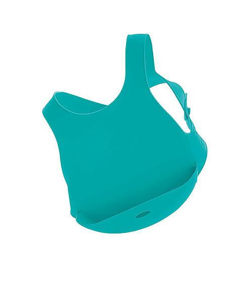 Minikoioi Turkey-  Flexi Bib - Green 土耳其Minikoioi防水餐用圍兜