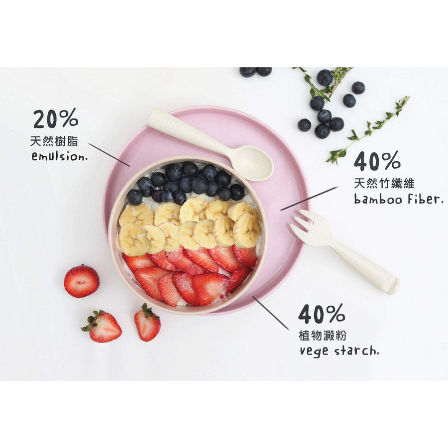 Miniware Taiwan Eating Master Set - Nordic Lake 台灣Miniware天然植物製餐用盤套裝
