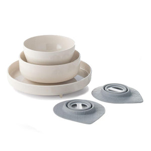Miniware Taiwan Eating Master Set - Natural Bamboo 台灣Miniware天然植物製餐用盤套裝